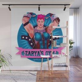 Zarya's Gym Wall Mural