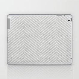 Stitch Weave Geometric Pattern in Grey Laptop & iPad Skin