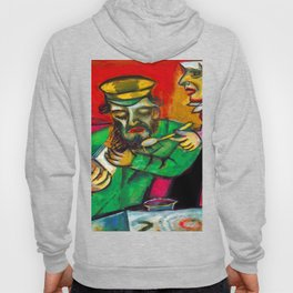 Marc Chagall Spoonful of Milk Hoody