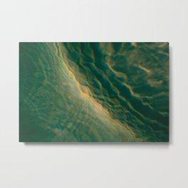 Tsunami Metal Print