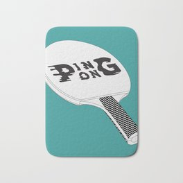 Ping Pong Bath Mat