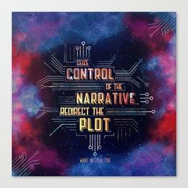 Want - Seize Control Canvas Print