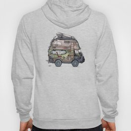 Dream Van - interior view Hoody