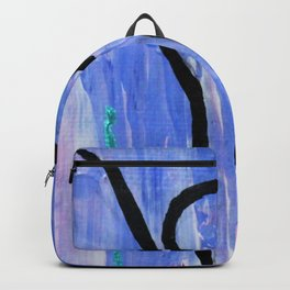 Tree pose abstract Backpack