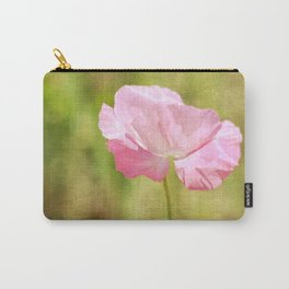 Pink Iceland Poppy Flower Carry-All Pouch