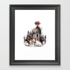 Treasure Island Framed Art Print