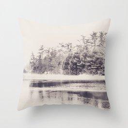Papermill Lake Throw Pillow