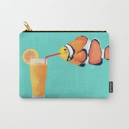 The Clown Fish Drinks Carry-All Pouch