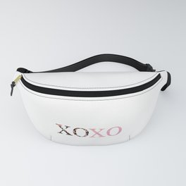 Valentine's Day XOXO Happy Hugs Kisses Love Day Fanny Pack