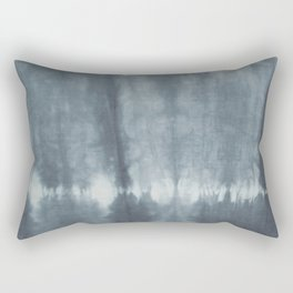 Tye Dye Gray Rectangular Pillow