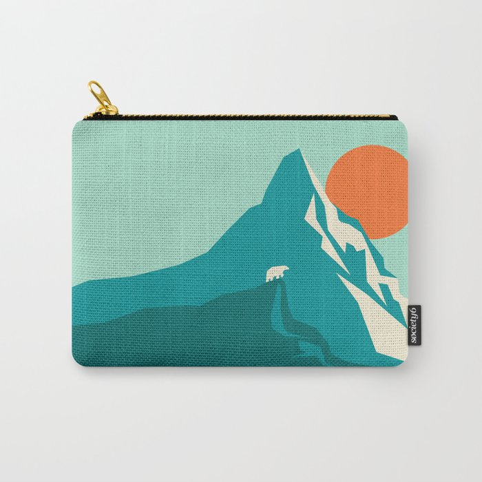 As the sun rises over the peak Carry-All Pouch