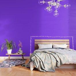 Cheap Solid Deep Aztec Purple Color Wallpaper