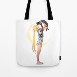 Usagi and Luna Tote Bag