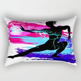 Martial arts, karate, yoga, aikido, judo, athlete Rectangular Pillow