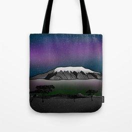 Mount Kilimanjaro Tote Bag