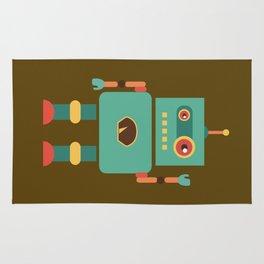 Fun Robot Toy Graphic Rug