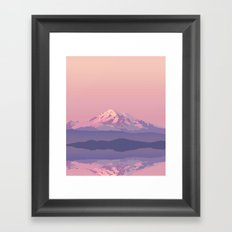 Mt Baker Framed Art Print
