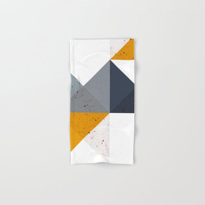 Modern Geometric 19/2 Hand & Bath Towel