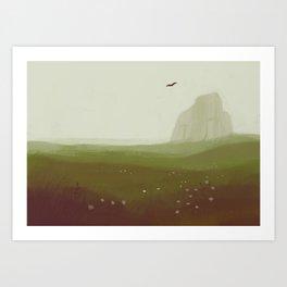 Prairie Art Print