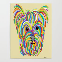 Yorkshire Terrier - YORKIE! Poster
