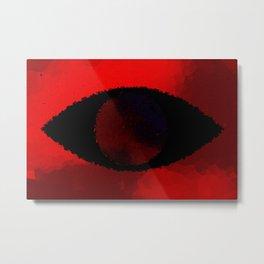 Eye Of The Beholder v2 -redshifted- Metal Print