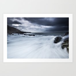 Storm is coming Art Print