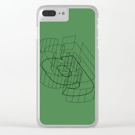 g like green Clear iPhone Case