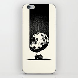 Trouble At Home iPhone Skin
