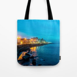 VIDA Foldaway Tote - Digital Horizon by VIDA