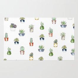 Cute cactus pattern Rug