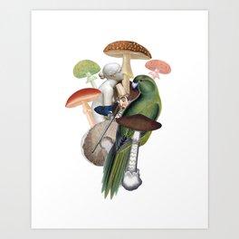 The Hunt Art Print