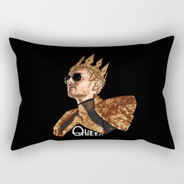 Queen Bill - White Text Rectangular Pillow
