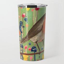 je ne suis pas qu'un oiseau revisited Travel Mug