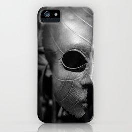 Leaf Mask iPhone Case