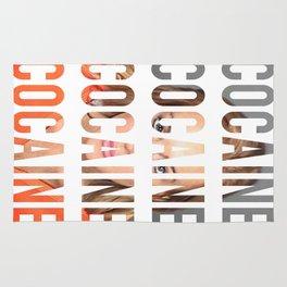 LINDSAY LOHAN - COCAINE Rug