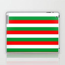 italy hungary bulgaria iran mexico Madagascar flag stripes Laptop & iPad Skin
