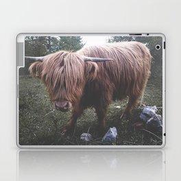 Highland cow Laptop & iPad Skin