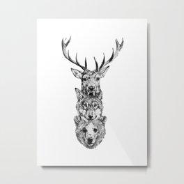 Totem. Metal Print