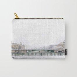 White Paris Carry-All Pouch