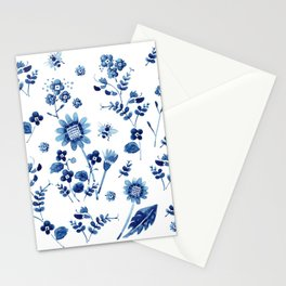 Spring wild flowers & Bee Stationery Cards