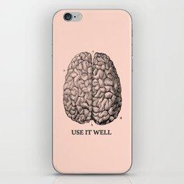 Use it well iPhone Skin