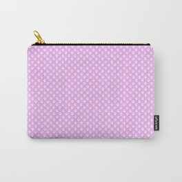 Tiny Paw Prints Pretty Pink Pattern Carry-All Pouch