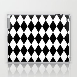 Black and White Liquorice Pattern Laptop & iPad Skin
