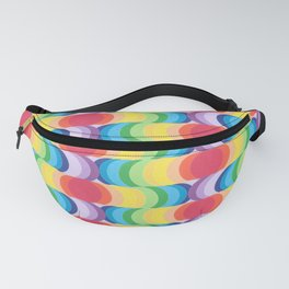 Rainbow Dragon Scales 2 Fanny Pack