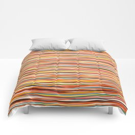 Colored Lines #1 Comforters