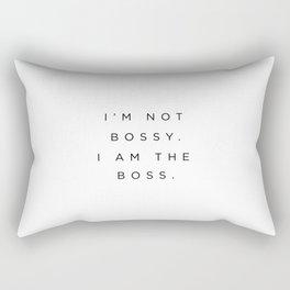 Boss Rectangular Pillow