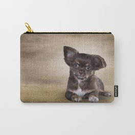 Drawing Puppy Chihuahua Carry-All Pouch
