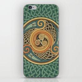 Celtic Knotwork Shield iPhone Skin