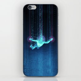 Virtual Reality Diver iPhone Skin
