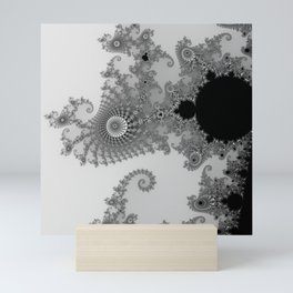 males mandelbrot abstract Mini Art Print